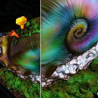 Fairy Snail Cake  by Maria Magrat