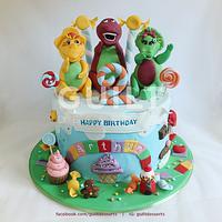 Barney Candyland
