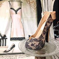 My Vintage Sugar Shoe!