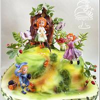 Fairy puppets world
