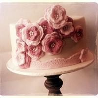 vintage style crochet flower's