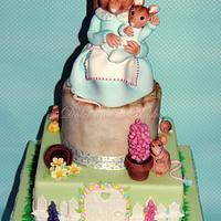 Cake inspired by Beatrix Potter