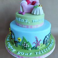 Mary's Retirement Cake