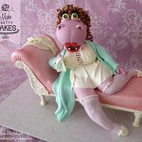 She's sexy!  Meet Heidi the Hippo from Meet the Feebles