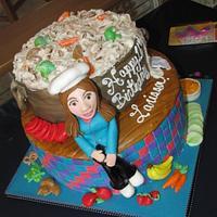 Sweet 16 Culinary Arts themed