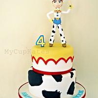 Toy Story Jessie Cake