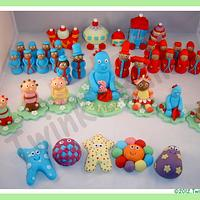 In the Night Garden Cupcake Toppers