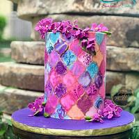 Cakerbuddies collaboration Ultraviolet - Purple Heaven