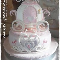 Princess cake for Greta's 1st Birthday