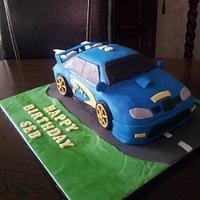 subaru cake