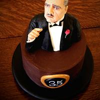 The Godfather cake