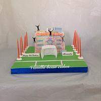 Apoel ultras cake
