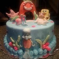 Spongebob Cake by Patty's Cake Designs