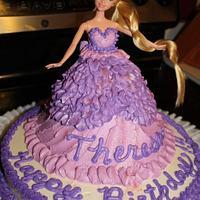 Little Teresa's Birthday cake