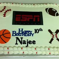 ESPN Cake