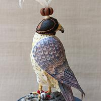 The Pet falcon-The Arabian nights collaboration by Sweet Symphony