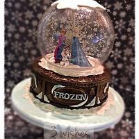 Frozen inspired Snow Globe