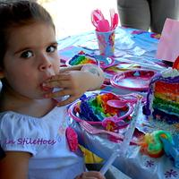 My Little Pony Rainbow Cake by Jeanette Rodriguez