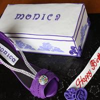 shoe and box cake  by Rostaty