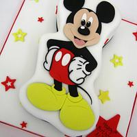 2D Mickey Mouse Cake