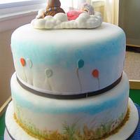 Wookie the Chew baby shower cake. by Han Dougan