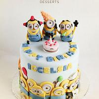 Minions Party! by Guilt Desserts