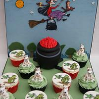 Room on the Broom Cupcakes - Bronze at Cake International 2013