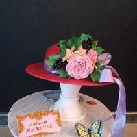 "Cake-""Summer hat"""