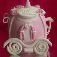 Cinderella's Carriage Cake!