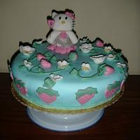Hello Kitty Birthday Cake by Unsubscribe