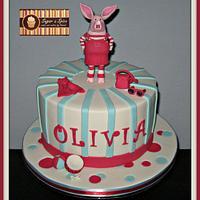 Olivia Pig Cake