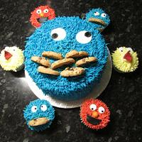 Cookie monster by Hellocupcake