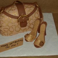 """Coach"" birthday cake"