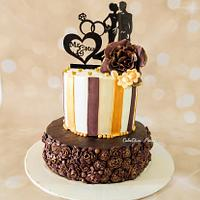Bas-Relief Wedding cake