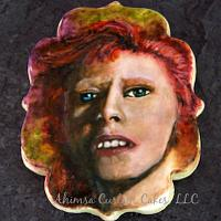 David Bowie inspired cookie