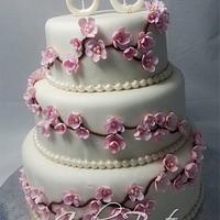 Cherry Blossoms Cake