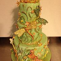 My first sugarcraft cake