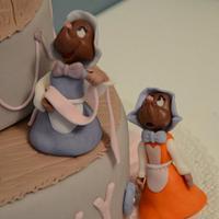 Cinderella by sweetnesscakedesign