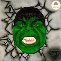 The Incredible Hulk - Baking for Superjosh collaboration