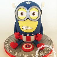 Captain America Minion!