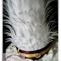 Rice Paper Feather Cake