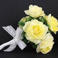 Wafer paper Rose Bouquet
