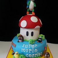 Super Mario Cake by giada