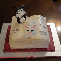 Kitty Cake book.