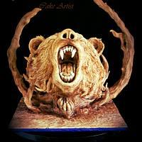 Bear Cake by Alyaa Sharshar