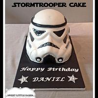 3D Stormtrooper cake