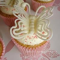 Candy Melt Butterflies by DarcysCupcakes