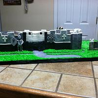 Castle cake  by Tetyana