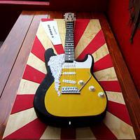 Rockin Guitar Bday Cake