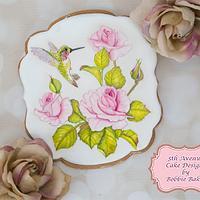 Beautiful Floral Bird Cookies 🕊🌷🌸